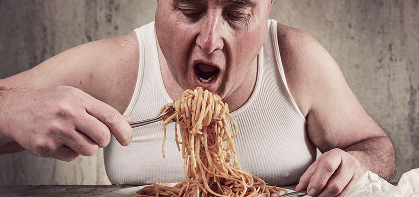 Excesso de apetite
